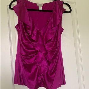 Caché 💯 silk blouse-M